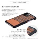 【ネコポス送料無料】【iPhone11 Pro Max】Man&Wood 天然木ケース Browny Check