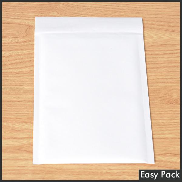 【K30-WH-350】 【法人様宛は送料無料】 紙クッション封筒 色:ホワイト / サイズ:30 (縦254mmX横190mm)