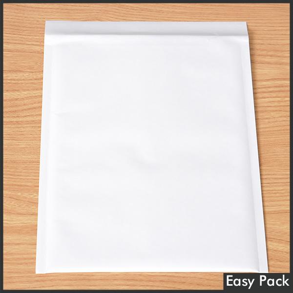 【法人様宛は送料無料】 紙クッション封筒 色:ホワイト / サイズ:60 (縦320mmX横260mm)