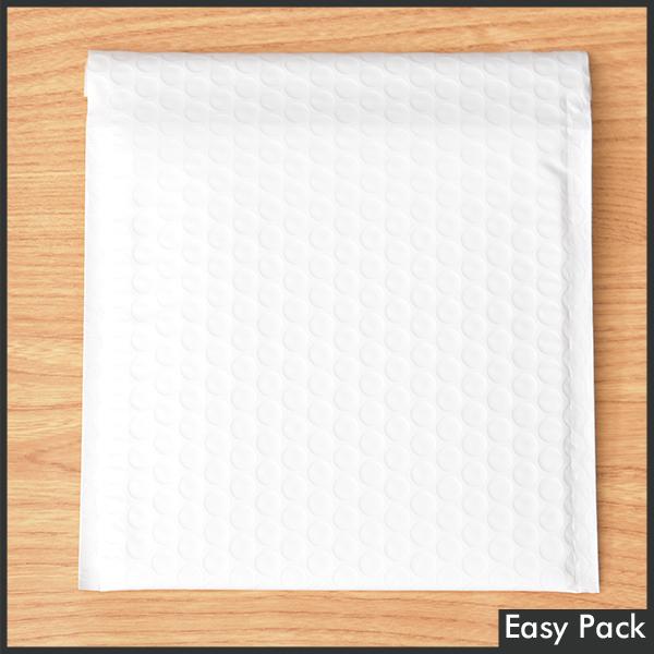【10-WH-400】 【法人様宛は送料無料】 耐水ポリビニルクッション封筒 色:ホワイト / サイズ:10 (縦186mmX横206mm)