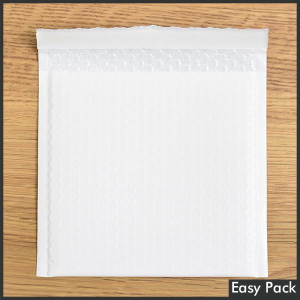 【10X-WH-700】 【10箱以上セット】 【法人様宛は送料無料】 耐水ポリビニルクッション封筒スリムタイプ 色:ホワイト / サイズ:10 (縦186mmX横206mm)