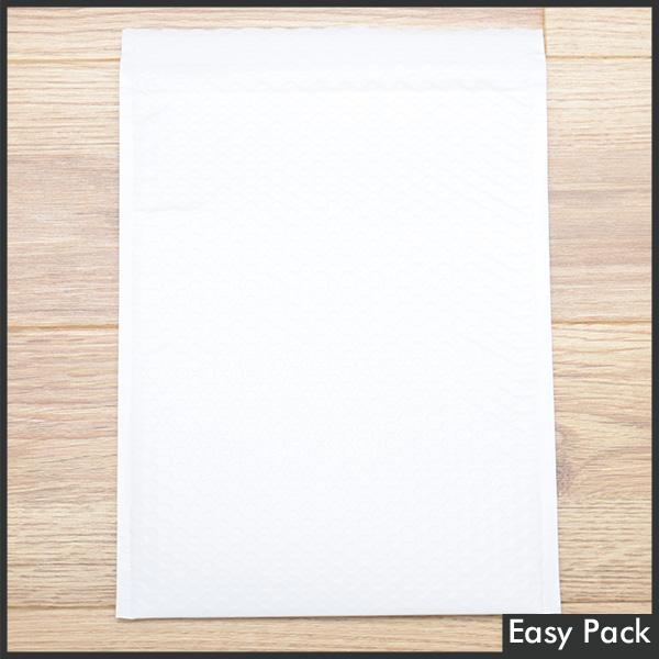【60X-WH-350】 【10箱以上セット】 【法人様宛は送料無料】 耐水ポリビニルクッション封筒スリムタイプ 色:ホワイト / サイズ:60 (縦320mmX横260mm)