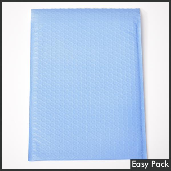【法人様宛は送料無料】 耐水ポリビニルクッション封筒 色:パープルブルー / サイズ:60 (縦320mmX横260mm)