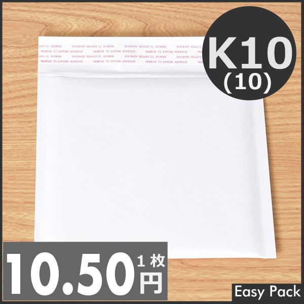 【K10-WH-440】【10箱以上セット】 【法人様宛は送料無料】 紙クッション封筒 色:ホワイト / サイズ:10 (縦186mmX横206mm)