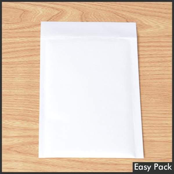 【K20X-WH-1000】 【法人様宛は送料無料】 紙クッション封筒スリムタイプ 色:ホワイト / サイズ:20 (縦200mmX横150mm)