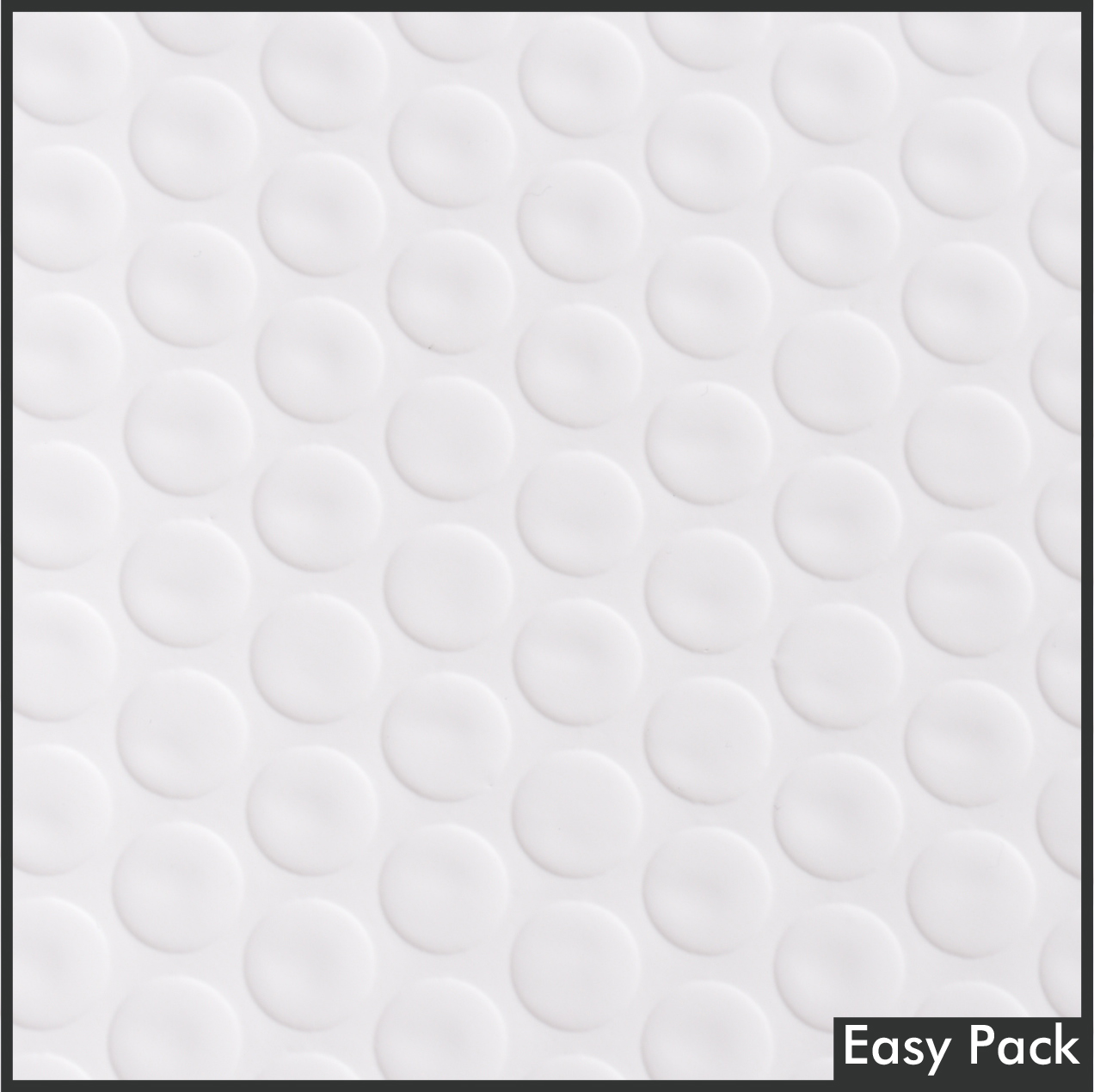 【法人様宛は送料無料】 耐水ポリビニルクッション封筒スリムタイプ 色:ホワイト / サイズ:50 (縦228mmX横312mm)