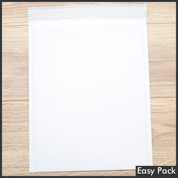 【法人様宛は送料無料】 耐水ポリビニルクッション封筒スリムタイプ 色:ホワイト / サイズ:60 (縦320mmX横260mm)
