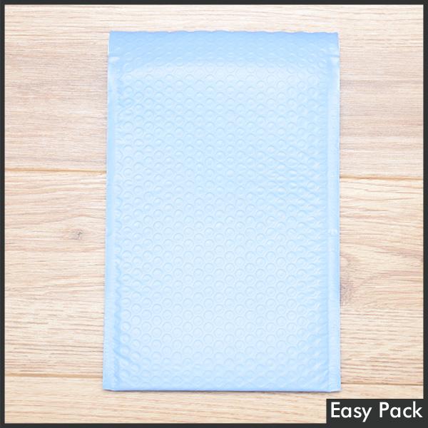 【法人様宛は送料無料】 耐水ポリビニルクッション封筒スリムタイプ 色:パープルブルー / サイズ:30 (縦254mmX横190mm)