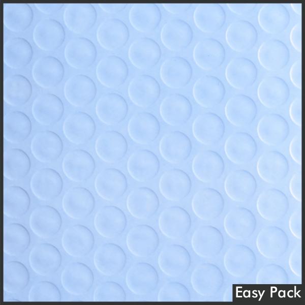 【40X-BL-480】 【法人様宛は送料無料】 耐水ポリビニルクッション封筒スリムタイプ 色:パープルブルー / サイズ:40 (縦280mmX横205mm)