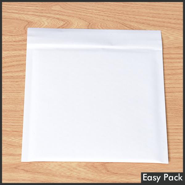 【法人様宛は送料無料】 紙クッション封筒スリムタイプ 色:ホワイト / サイズ:10 (縦186mmX横206mm)
