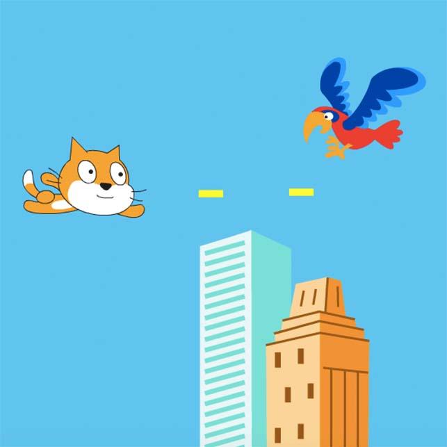 4.アイデアを自由に!Scratchでゲームプログラミング[新小1〜高校生][水道橋][18SP]