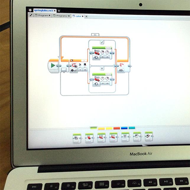 6.機体を組立てプログラミング!ロボットカー障害物レース[新小3〜高校生][水道橋][18SP]