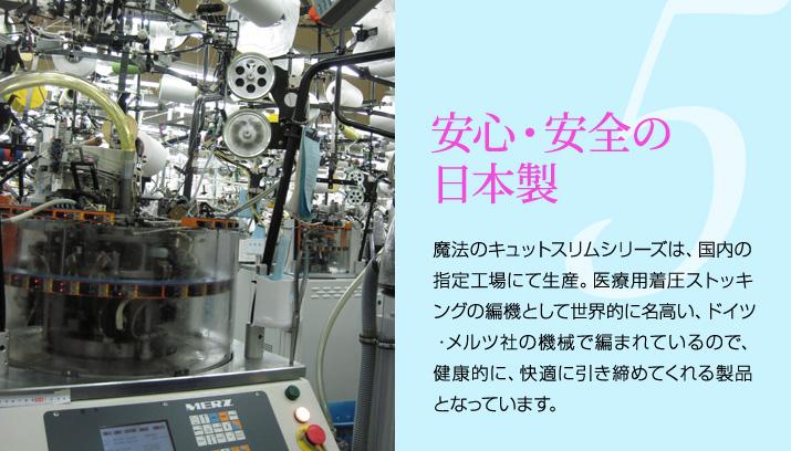 ネコポス送料無料 日本製 140デニール 冷感 美脚 引締め 着圧レギンス ガードル機能付き UVカット<br>【魔法キュットスリム・さわやかレギンス】