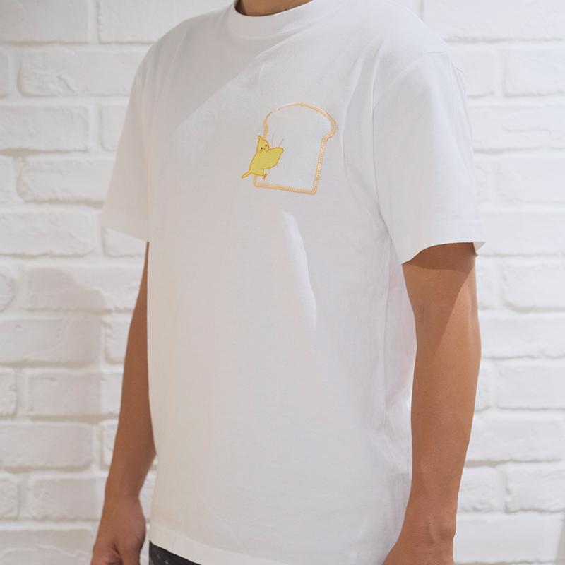 むぎゅっ鳥 Tシャツ オカメインコ
