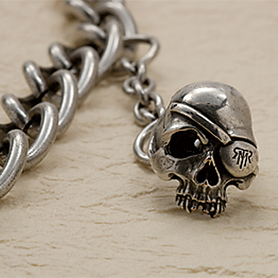 [turbo]SKULL WALLET CHAIN