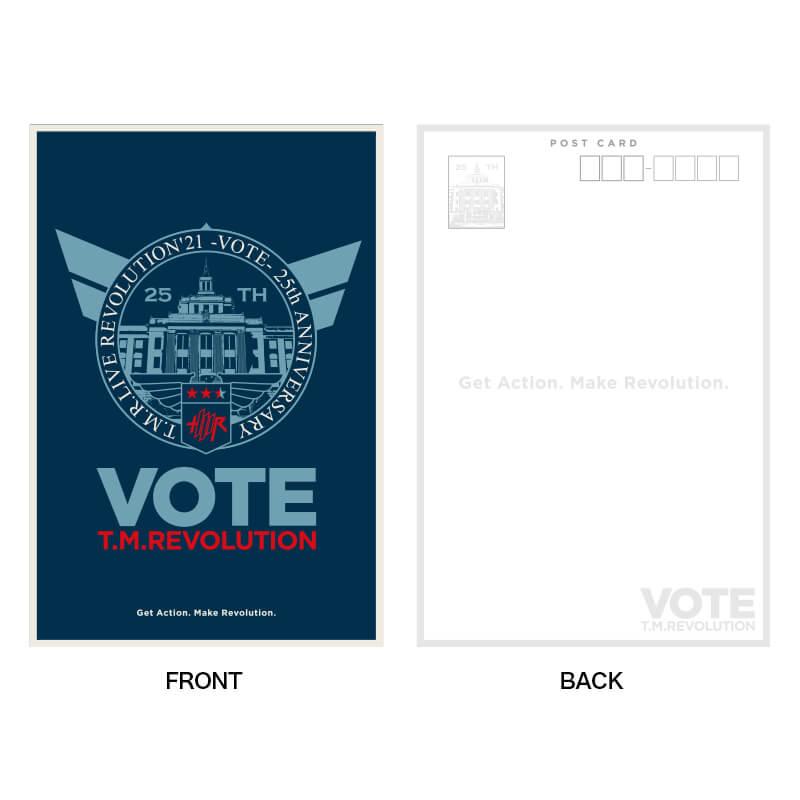 [T.M.R. VOTE]ポストカードセット