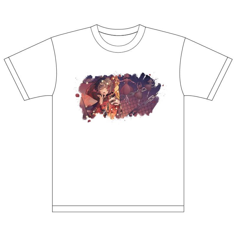 [天月-あまつき-]Tシャツ リモートver.(Rock&Cool)