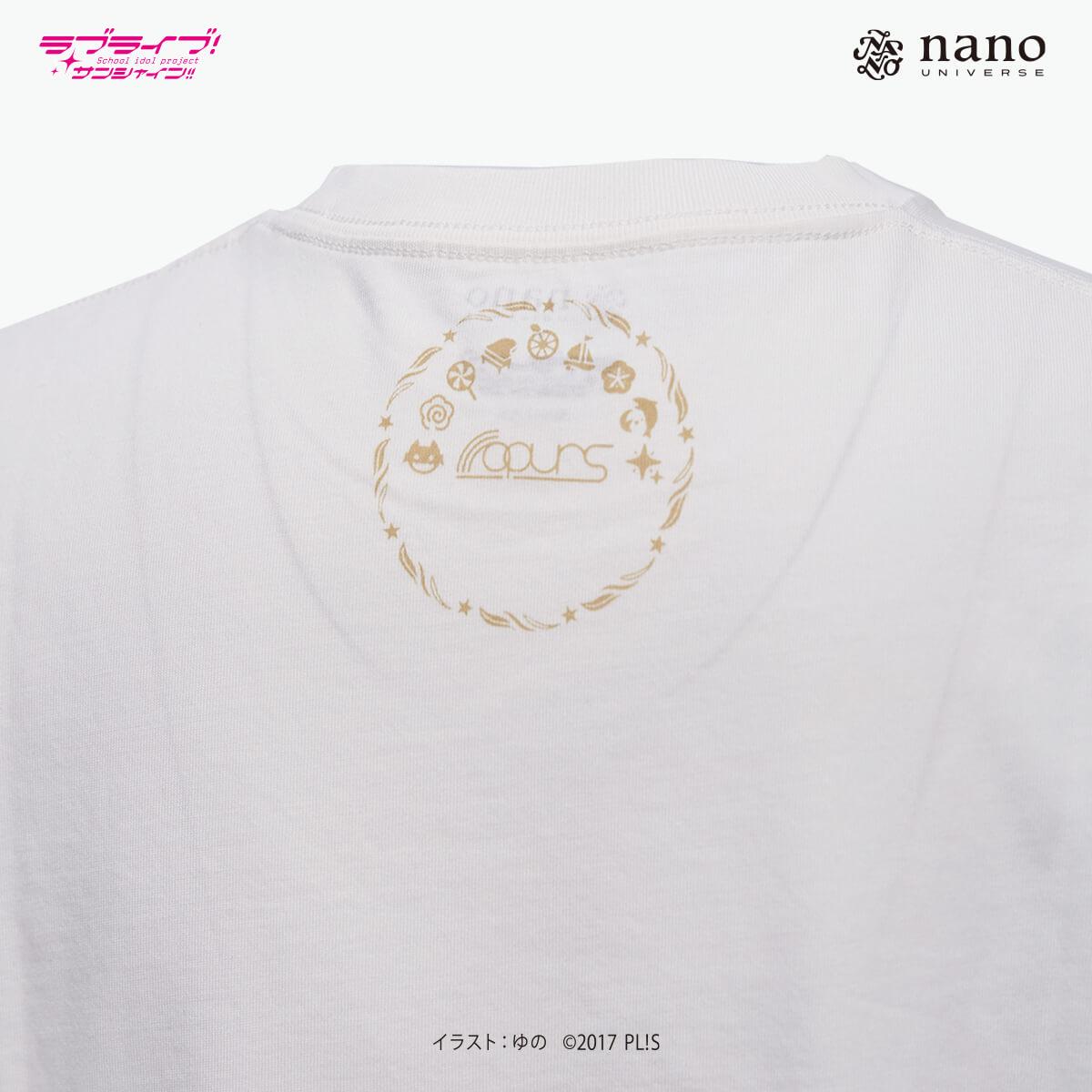[ナノ・ユニバースコラボ] ナノ・ユニバース×ラブライブ !サンシャイン!!ナノファインTシャツ【小原鞠莉】