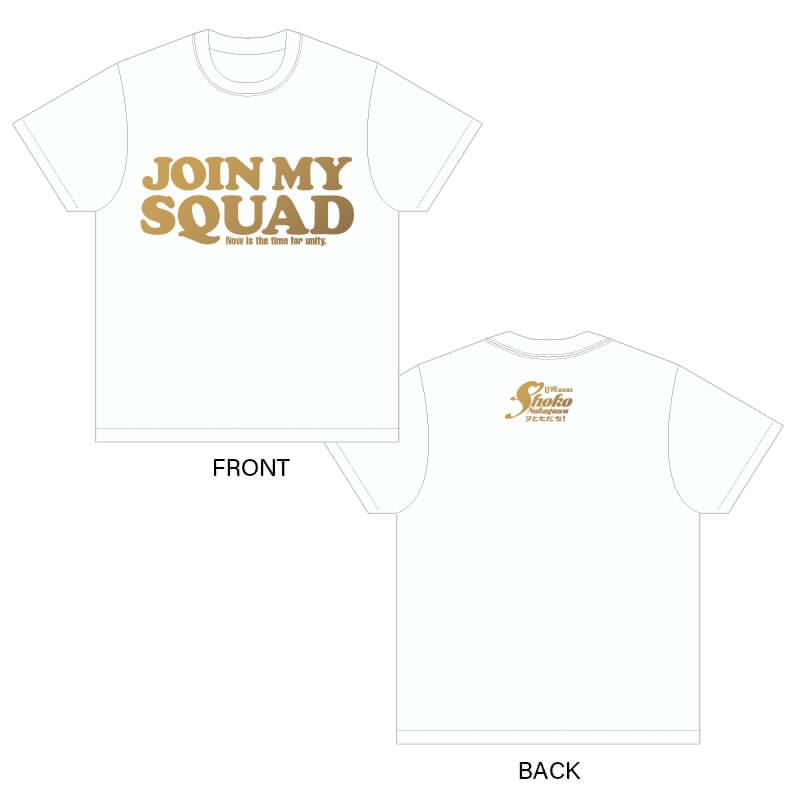 今こそ団結!ヲともだち Tシャツ 【ホワイト】