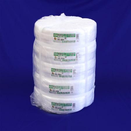 荷造り用ひも PPテープ 200mm巾x500m 5巻入り