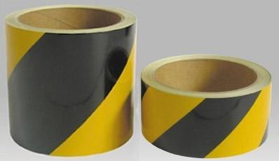 安全反射標識テープ(斜めシマ)