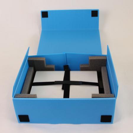 ノートパソコン用ボックス B5〜17型Wサイズ対応1台用 10個