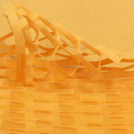 クッションペーパー カラー オレンジ 2000枚入り