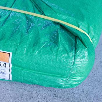 グリーンシート(緑) カット 中薄(#2000) 3.6x5.4m  10枚入り