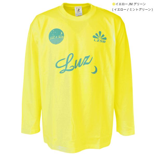 ★特価★LUZeSOMBRA(ルースイソンブラ) ジュニア 長袖 Tシャツ F2022032