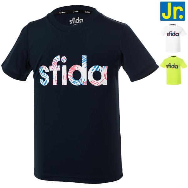 ★半額★SFIDA(スフィーダ) ジュニア PALMロゴプラクティスTシャツ SA-20S04JR