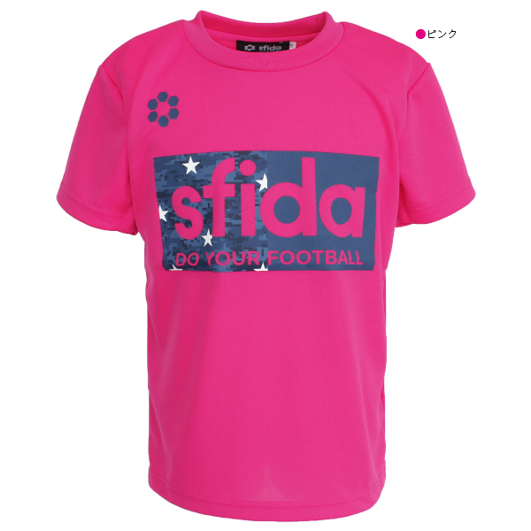 SFIDA(スフィーダ) ジュニア スターカモプラクティスシャツ SA-19A04JR