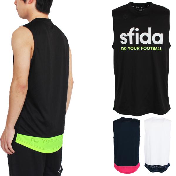 ★半額★SFIDA(スフィーダ) ノースリーブプラクティスシャツ SA-19S10