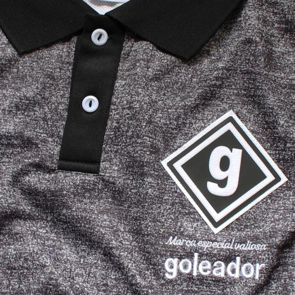 goleador(ゴレアドール) 昇華ノイズ柄プラポロシャツ F-164