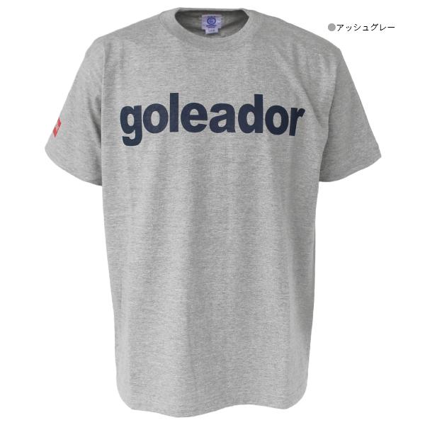 ★特価★goleador(ゴレアドール) ロゴTシャツ G-2394