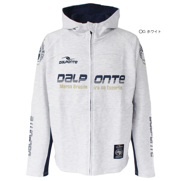 ★特価★DalPonte(ダウポンチ) アスレジャースウェットジップパーカー DPZ0285