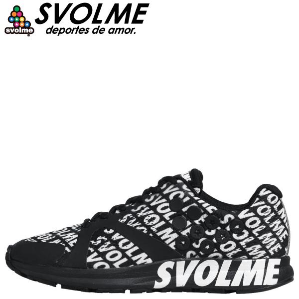SVOLME(スボルメ) ランニングシューズ STRELLA LOGO 7201-08663-BL
