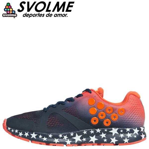 SVOLME(スボルメ) ランニングシューズ STRELLA GRADATION 7201-08863-NV
