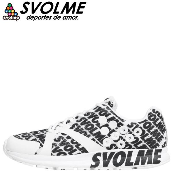 SVOLME(スボルメ) ランニングシューズ STRELLA LOGO 7201-08663-WH