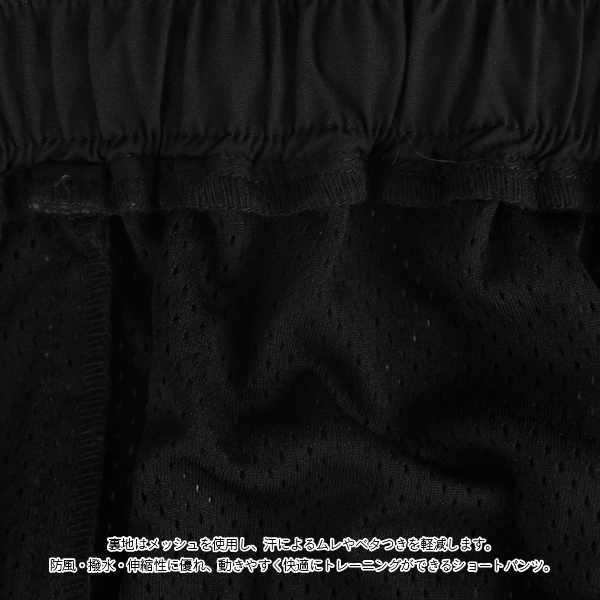LUZeSOMBRA(ルースイソンブラ) STRETCH TEFTA MESH ショートパンツ F2011303