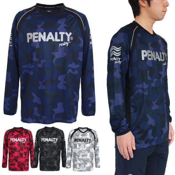 ★特価★PENALTY(ペナルティ) ハイスロングプラシャツ PU9010