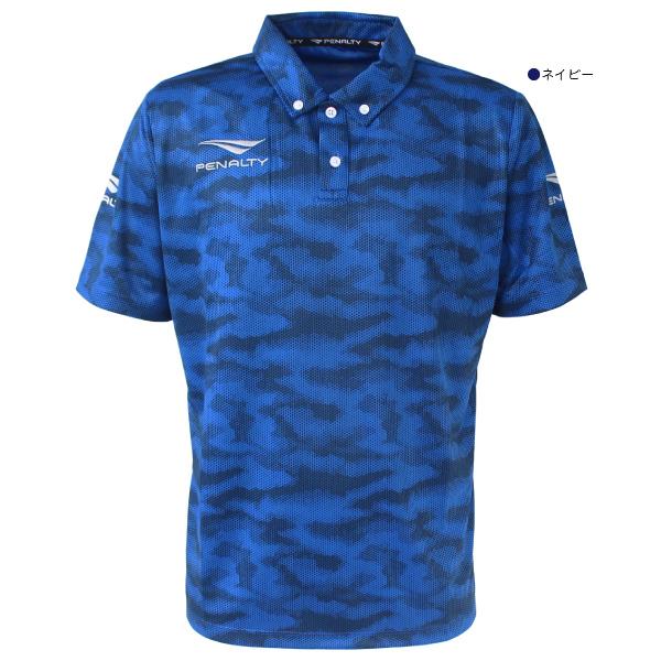 ★半額★PENALTY(ペナルティ) ドットカモポロシャツ PT0190