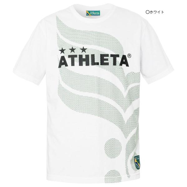 ★半額★ATHLETA(アスレタ) ジュニア カフェブラロゴTシャツ 03339J