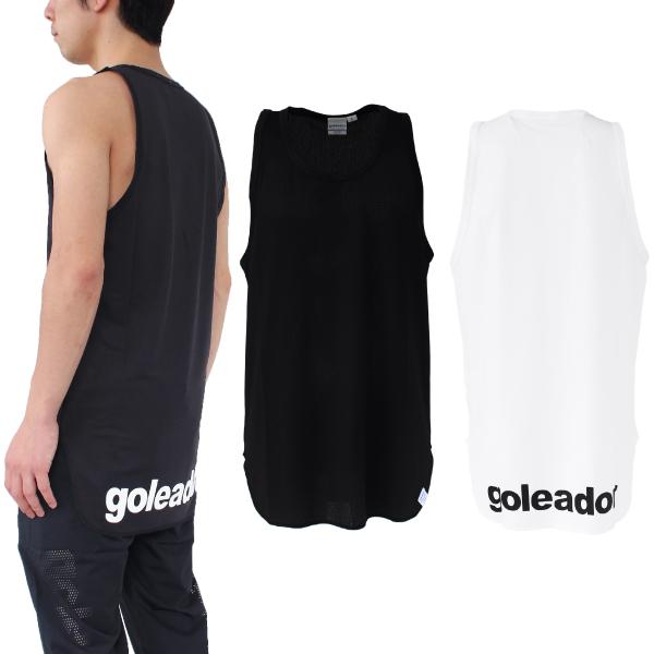 goleador(ゴレアドール) ノースリーブロングメッシュシャツ G-2356