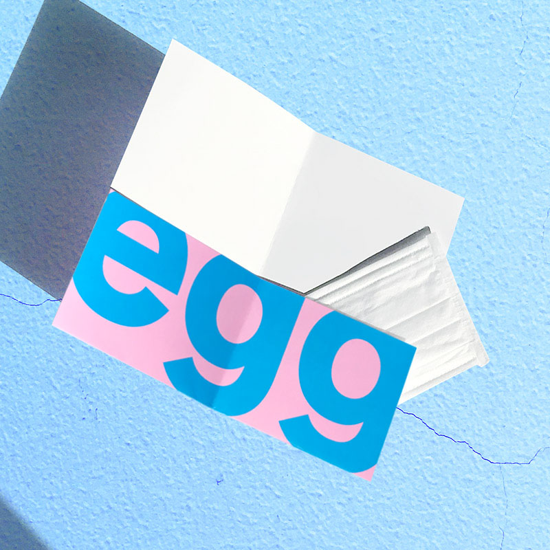 YOSOUGAI マスクケース【抗菌ニス加工】#1 egg