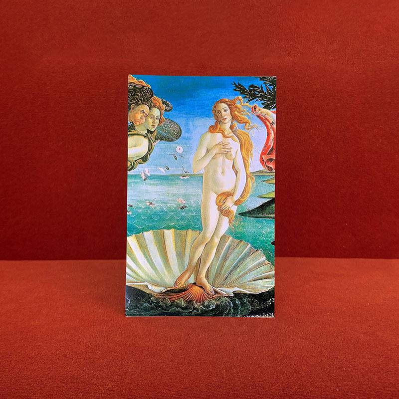 持ち歩く美術館 マスクケース【抗菌ニス加工】#2 Botticelli