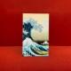 持ち歩く美術館 マスクケース【抗菌ニス加工】#3 Hokusai