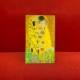 持ち歩く美術館 マスクケース【抗菌ニス加工】#6 Klimt