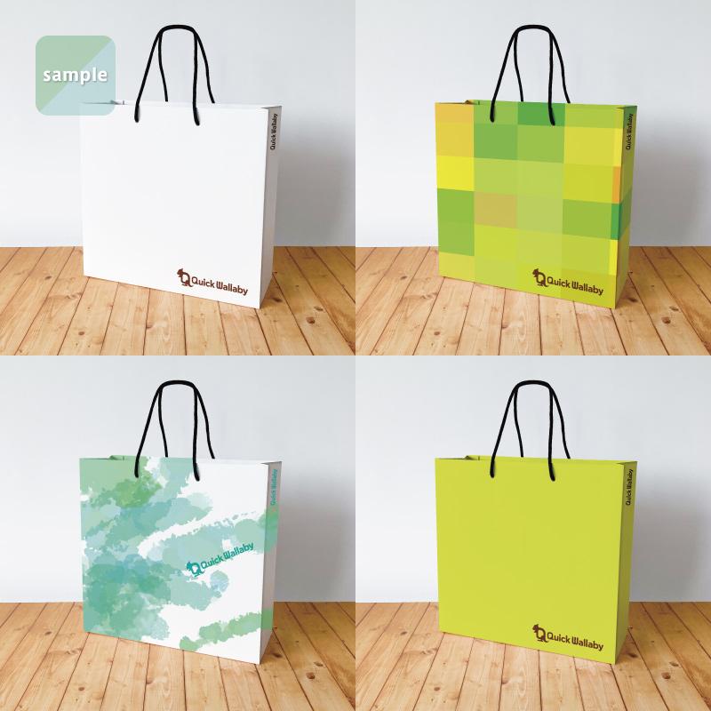 セミオーダー紙袋(Sサイズ)【1,000〜1,499部】