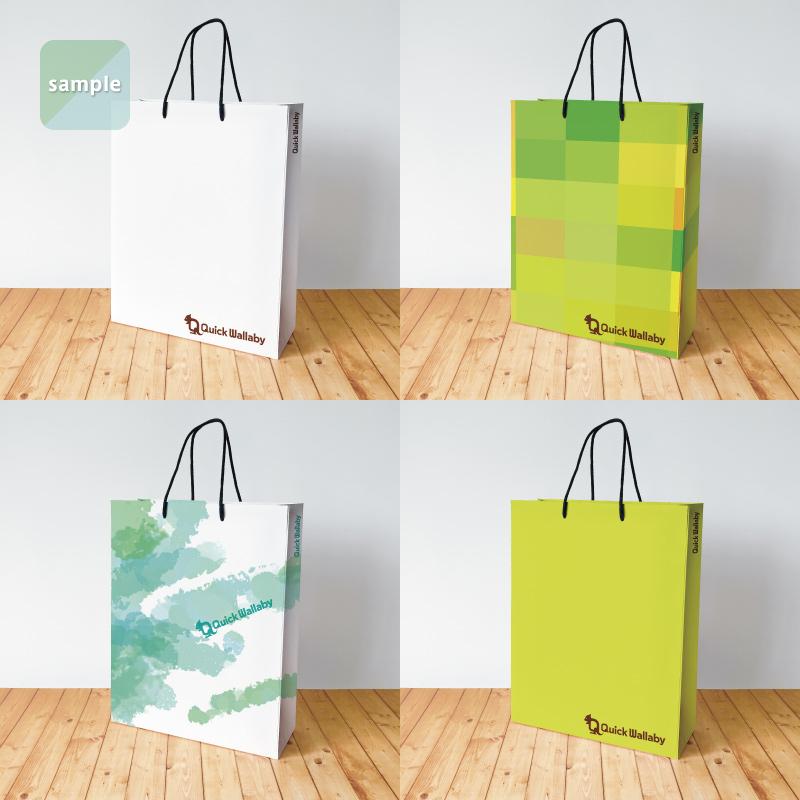 セミオーダー紙袋(Mサイズ)【1,000〜1,499部】