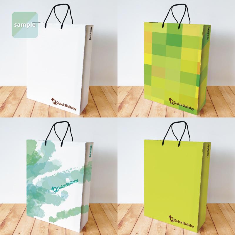 セミオーダー紙袋(Lサイズ)【500〜999部】